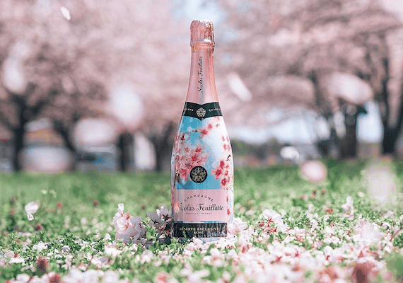 UNVEILING THE CHERRY BLOSSOM SAKURA EDITION OF CHAMPAGNE NICOLAS FEUILLATTE RÉSERVE EXCLUSIVE ROSÉ