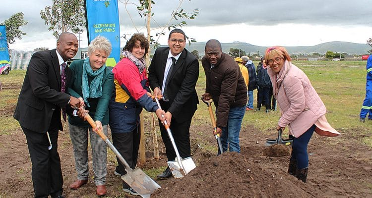 MOTHER NATURE WELCOMES TREE PLANTING