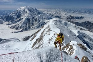 ON TRACK TO BE THE YOUNGEST AFRICAN TO SCALE THE SEVEN SUMMITS