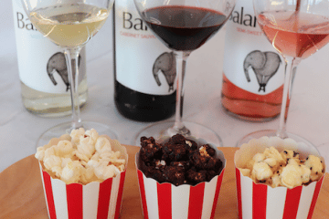 BALANCE WINES MAKE GOURMET POPCORN POP