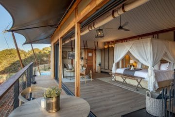 Shamwari welcomes first guests to Sindile luxury tented camp