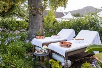 REJUVENATING SPA TREATMENTS IN IDYLLIC STEENBERG SCENTED GARDEN