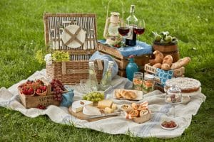 SUMMER PICNICS WITH GRANNY MOUSE