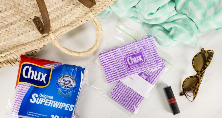 CLEAN LIKE A HERO WITH CHUX SUPERWIPES