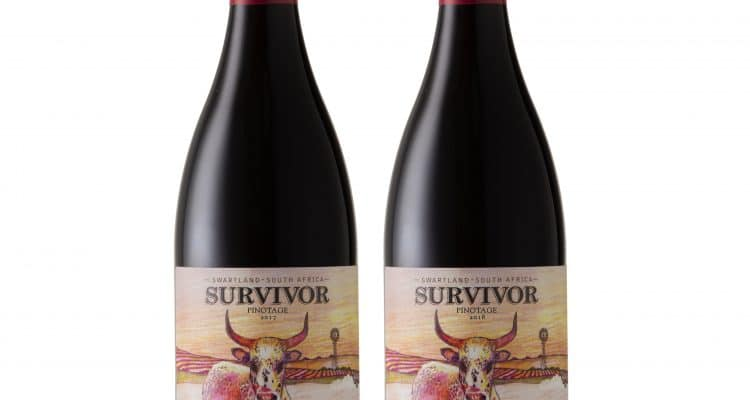 DOUBLE TAKE FOR SURVIVOR PINOTAGE AT MUNDUS VINI WINE AWARDS