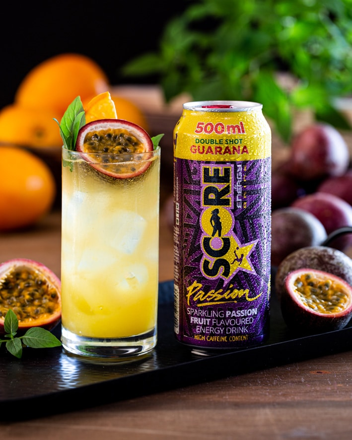 FUEL YOUR PASSION WITH NEW SCORE PASSION FRUIT