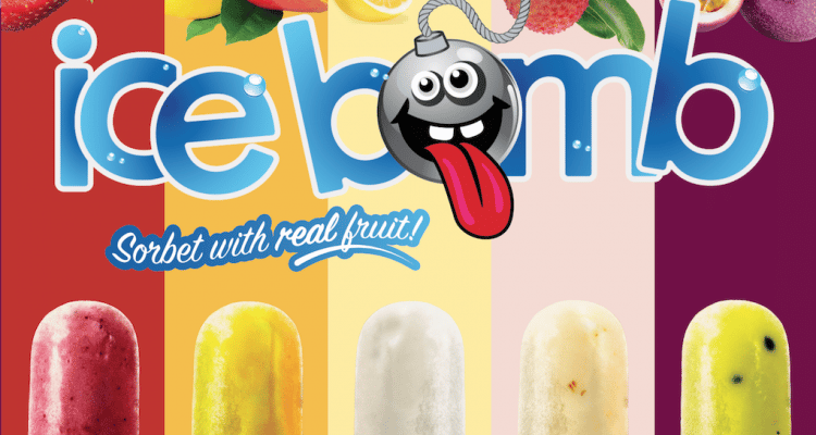 ICE BOMBS – THE REAL FRUITY TASTE OF SUMMER!