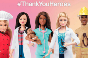 MATTEL UNVEILS #THANKYOUHEROES PROGRAM FROM BARBIE® SUPPORTING THE CHILDREN'S HOSPITAL TRUST (CHT)
