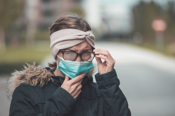 MASKS AND GLASSES – HOW TO STOP THE FOG