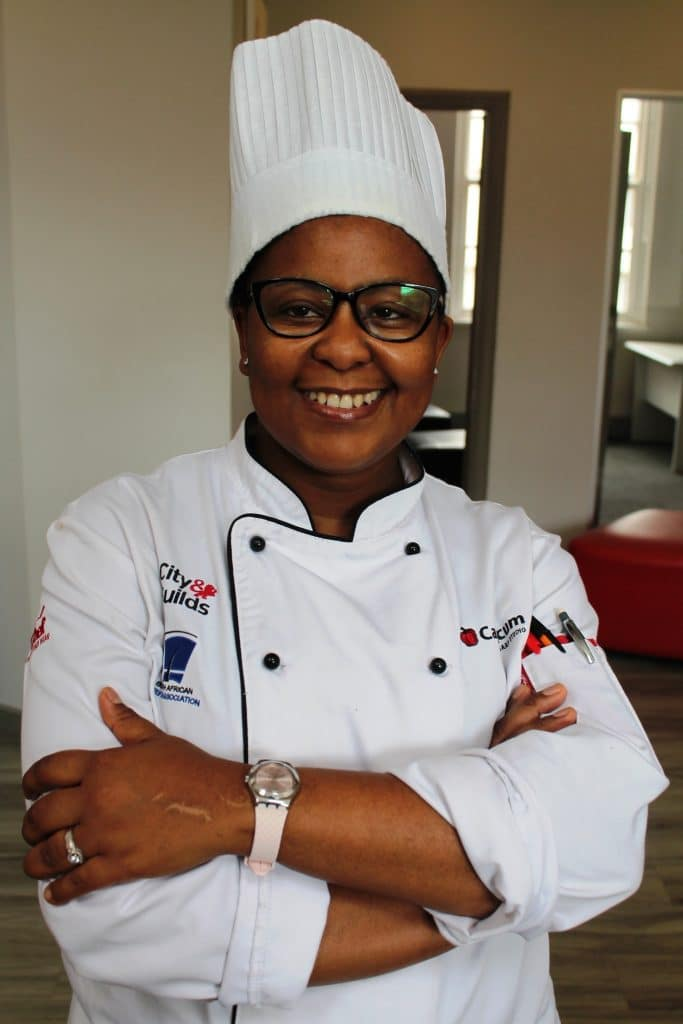 Lungile Makiza is a chef lecturer at Capsicum Culinary Studio's Pretoria campus.