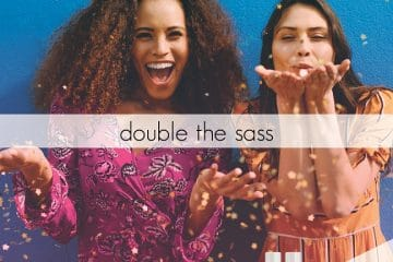 DOUBLE THE MOISTURE WITH DOUBLE THE SASS - SOFTLIPS LAUNCHES LIMITED SOFTLIPS DUO OFFERING AT A SAVING OF 30%