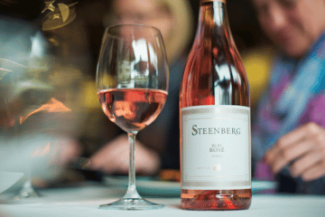STEENBERG RUBY ROSÉ IS HAPPINESS IN YOUR GLASS