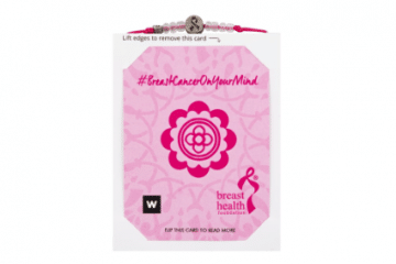 RELATE AND WOOLWORTHS TEAM UP TO LAUNCH BRAND NEW BRACELET TO MARK BREAST CANCER AWARENESS MONTH