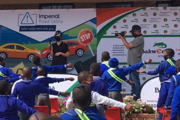 IMPERIAL AND THE BAKWENA CONCESSIONAIRE 'BUCKLE UP' LEARNERS AND PEDESTRIANS THIS TRANSPORT MONTH!