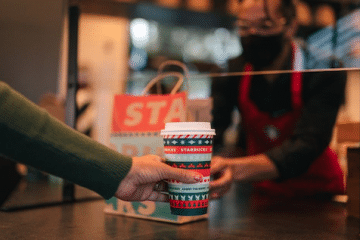 CARRY THE MERRY AND BE THE KINDNESS – WITH STARBUCKS