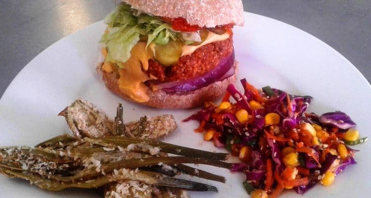 CELEBRATE WORLD VEGAN MONTH WITH A BURGER