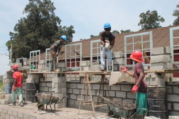BUILDERS AND MYSCHOOL MY VILLAGE MY PLANET ENABLE ZILUNGISELE PRIMARY SCHOOL TO DO IT FOR THEMSELVES