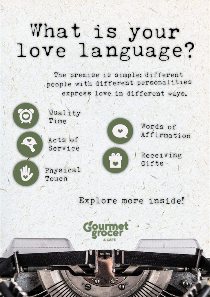 THE GOURMET GROCER – EMBRACING THE 5 LOVE LANGUAGES DURING THE MONTH OF LOVE