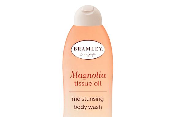 NEW BRAMLEY MAGNOLIA TISSUE OIL MOISTURISING BODY WASH