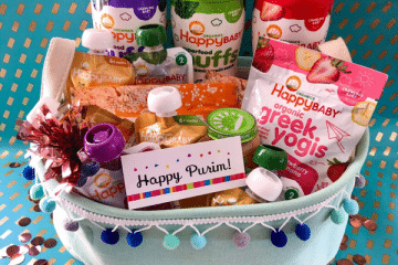 HAPPY PURIM FROM HAPPY FAMILY ORGANICS!