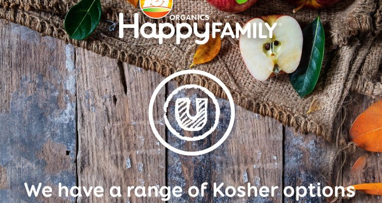 MAJORITY OF HAPPY FAMILY ORGANICS RANGE NOW KOSHER CERTIFIED!