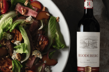 SUMMER STEAK SALAD WITH A ROODEBERG TWIST