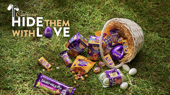 CADBURY LAUNCHES ITS INSTANT EGGSPERIENCE OFFERING EGGCITNG PRIZES JUST IN TIME FOR EASTER