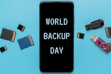 COMMIT TO SAVING YOUR DATA THIS WORLD BACKUP DAY
