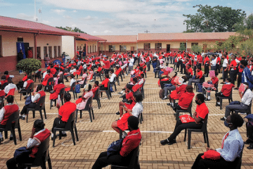 ENGEN SUPPORTS CARING4GIRLS FEMININE HYGIENE INITIATIVE AT BAKWENA AND LESELE SECONDARY SCHOOLS