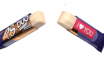 NEW CADBURY P.S. DUO IS #MADETOSHARE