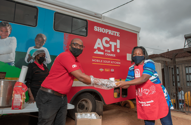 ROYCO AND SHOPRITE BRING HOPE TO COMMUNITIES
