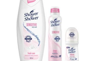 SHOWER TO SHOWER OFFERS GENTLENESS AND EFFECTIVENESS FOR SENSITIVE SKIN