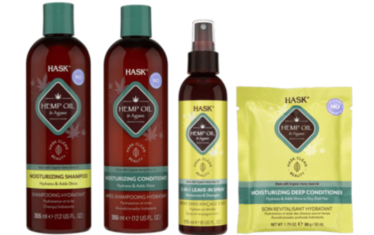 CLEAN BEAUTY BRAND, HASK LAUNCHES NEW HEMP OIL AND AGAVE MOISTURISING COLLECTION