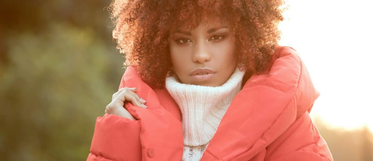 LOOKING AFTER NATURAL HAIR DURING WINTER