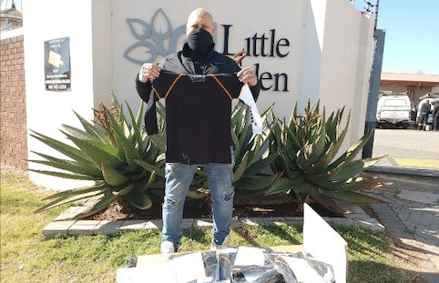 MADIBA DAY GIVE BACK FROM THE WORLD'S FIRST COVID-PROTECTIVE SHIRT FOUNDER
