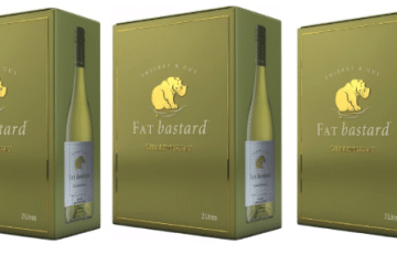 INTRODUCING THE NEW 2 LITRE FAT BASTARD CHARDONNAY FOR LARGER LIVING!