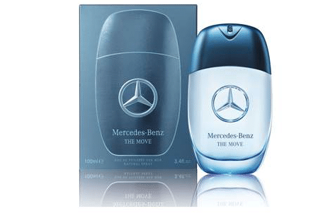 MERCEDES BENZ THE MOVE: THE FRAGRANCE FOR MEN IN MOTION