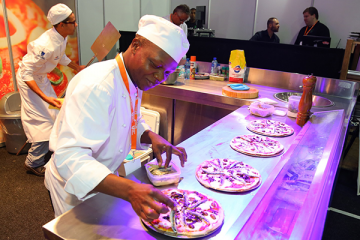 Pizza pizazz at new Food & Hospitality Africa expo