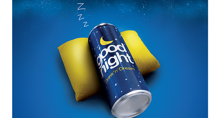 Get a Good Nights sleep with Good Night® relaxation drink!