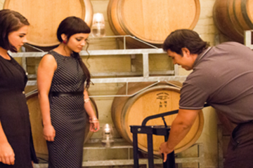BLEND YOUR OWN SIGNATURE WINE AT GRANDE PROVENCE