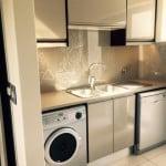 Kitchen Design - Handle Free Zone, Bespoke Splash back and contemporary finish