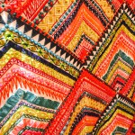 Bold fabric - texture and colour