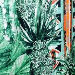Pierre Frey Fabric print - giant foliage