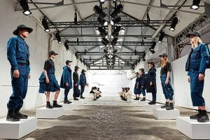 G-STAR RAW RESEARCH III BY AITOR THROUP FEATURING MEN'S AND WOMEN'S COLLECTIONS LAUNCHED AT PARIS FASHION WEEK