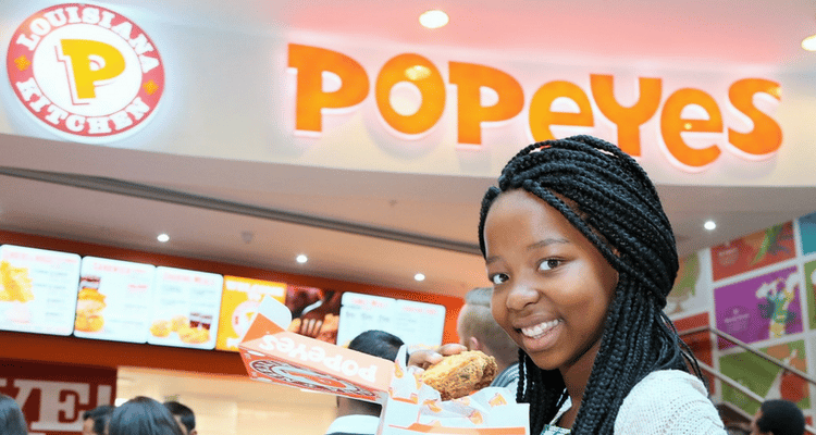 POPEYES® LOUISIANA KITCHEN NOW IN SOUTH AFRICA – IT'S ABOUT TIME!