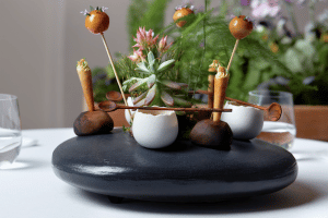 LA PETITE COLOMBE LAUNCHES EXQUISITE NEW ASIAN INSPIRED MENU