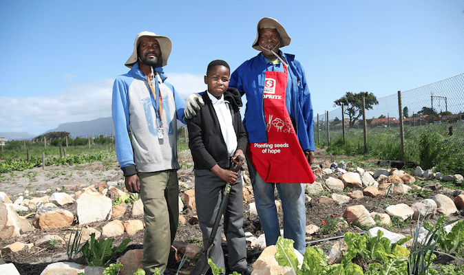 LANGA GARDEN HELPING TO FEED FUTURE SPORTS HEROES