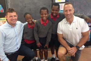ONE RUGBY LEGEND, TWO ADVENTURE ATHLETES - ONE EPIC CHARITY CHALLENGE