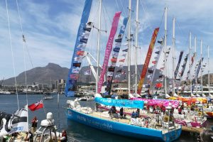 CLIPPER ROUND THE WORLD YACHT RACE AT THE V&A WATERFRONT THIS NOVEMBER