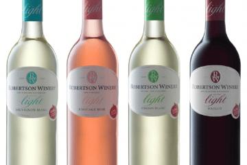 ROBERTSON WINERY LIGHT CULTIVAR RANGE OF WINES